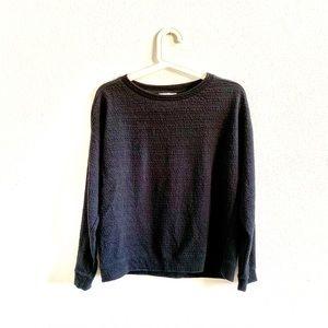 Zara Trafalac Fall/WinterCollection Black Sweater